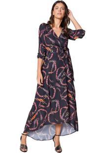 Vestido Longo Wrap