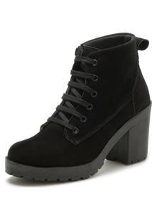 Bota Navit Shoes Tratorada ZãPer European Preto - Preto - Feminino - Dafiti