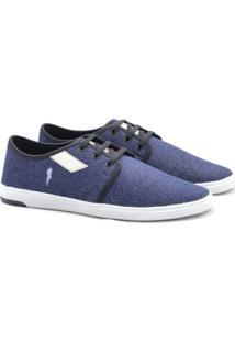 Sapatênis Polo Blu Masculino Jeans - Masculino