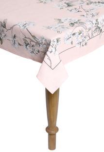 Toalha De Mesa Karsten Cada Dia Celine Retangular Rosa