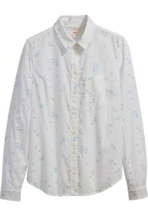 Camisa Levis Feminino Modern One Pocket Branco Branco