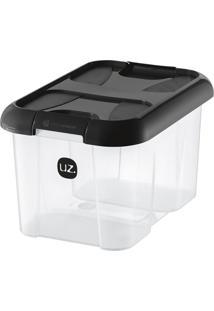 Caixa Organizadora Plus Preta 10 L
