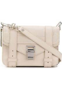 Proenza Schouler Ps1 Mini Crossbody - Lux Leather - Branco