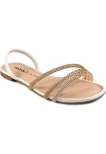 Sandália Strass Dakota Feminina Z7901