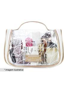 Nécessaire De Viagem - Incolor & Branca - 15,5X24X13Jacki Design