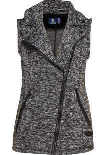 Colete Polo Wear Tricot Perfecto Cinza