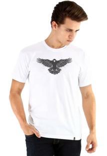 Camiseta Ouroboros Manga Curta O Corvo Masculina - Masculino