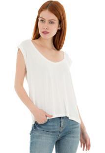 Camiseta Lis 41Onze Branca - Kanui
