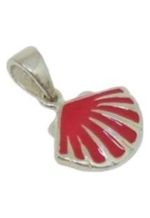 Pingente Lolla925 Concha Coral Miuda Prata 925