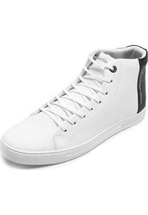 1d69d489836 ... Tênis Couro Calvin Klein Recortes Branco