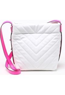 Bolsa Bucket Matelassê Bianco