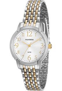 Relógio Mondaine Analógico 53569Lpmvbe1 Feminino - Feminino-Prata