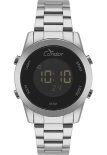 Relógio Condor Feminino Digital Prata Cobj3279Ab3P - Kanui