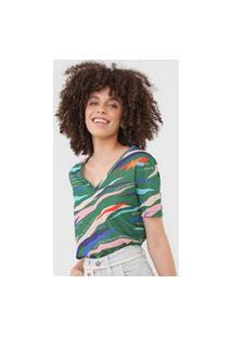 Camiseta Cantão Dançante Verde