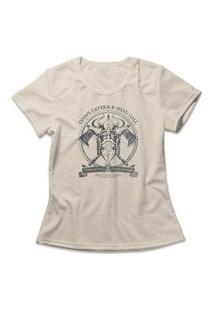 Camiseta Feminina Odin'S Tavern Bege