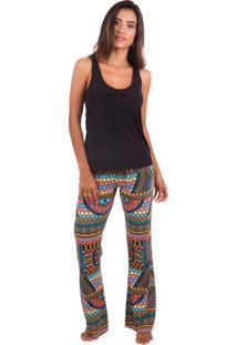 Pijama Inspirate Com Estampa Africana