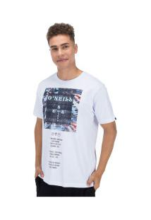 Camiseta O'Neill Estampada Cross - Masculina - Branco