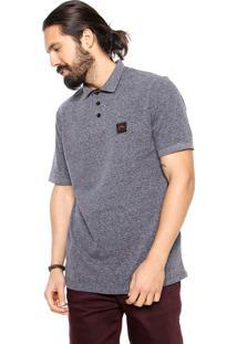 Camisa Polo Rusty Basic Cinza