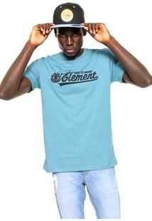 Camiseta Element Signature Azul