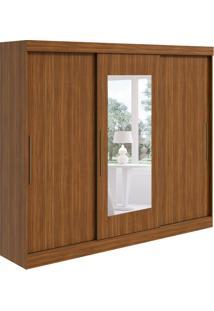 Guarda-Roupa Casal Com Espelho Montebello 3 Pt Rovere