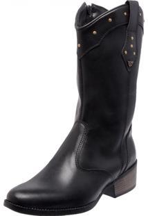 Bota Country Mega Boots 1324 Preto - Tricae