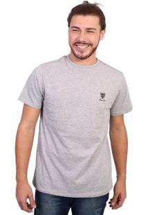 Camiseta New York Polo Club Tagless - Masculino-Cinza