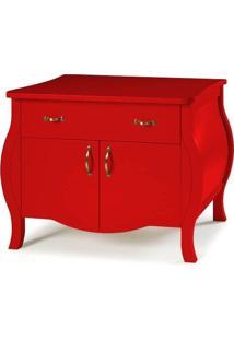 Cômoda Doors - Vermelho - Tommy Design