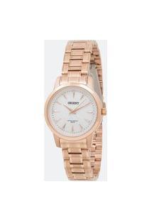 Relógio Feminino Orient Frss0028 B1Rx Analógico 5 Atm | Orient | Madrepérola | U