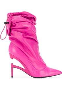 Unravel Project Fuchsia Ankle Boots - Rosa