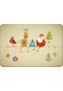 Tapete Sala Wevans Cute Noel Único Love Decor