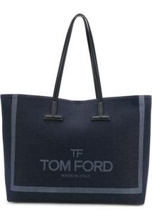 7027a9420 Farfetch. Bolsa Feminina Couro Zíper Tote Fag Tom Ford ...