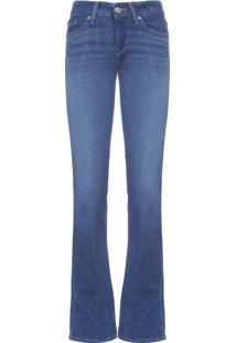 Calca Feminina Jeans Bootcut 715 - Azul
