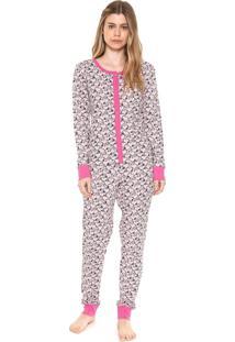Pijama Snoopy Estampado Rosa