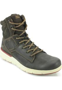 Bota West Coast Rodeo Brush - Masculino-Café