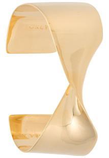 Egrey Bracelete Com Torção Egrey + Maneca - Dourado