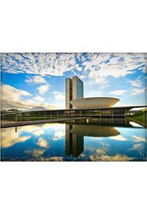 Jogo Americano Decorativo, Criativo E Descolado | Brasília - Tamanho 30 X 40 Cm