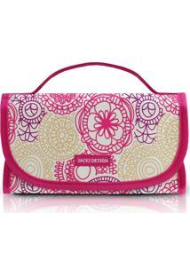 Necessaire Jacki Design Rocambole Ahl17287-Pk Pink Unico