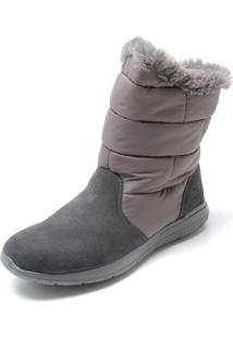 353603be09f ... Bota Skechers Go Walk City Cinza