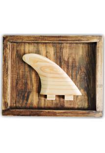 Quadro Decorativo Soul Fins Quilha Surf