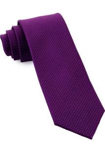 Gravata De Seda Plot Purple - Sd54