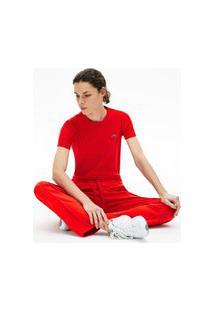 Lacoste - Camisa Feminino - Tf5463 - Vermelho, 42 Vermelho