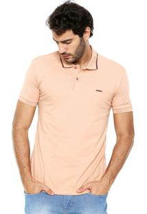 Camisa Polo Sommer Logo Coral
