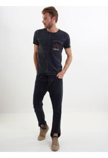 Calça John John Rock Capri Missouri Jeans Preto Masculina Cc Rock Capri Missouri-Jeans Black Escuro-48