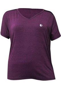 Camiseta Plus Size Way Free Feminina - Feminino