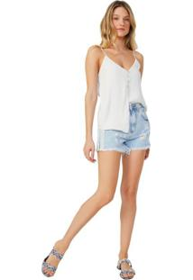 Shorts Jeans Com Listra Lateral