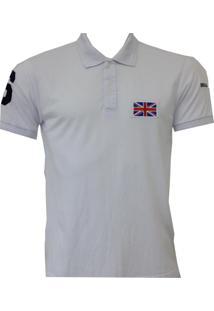 Camisa Polo England Leeds Branco