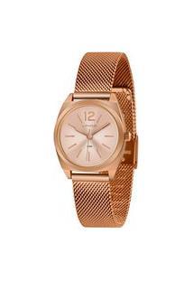 Kit Relógio Feminino Lince Lrrh137L-R2Rx Analógico 5Atm + Brinde | Lince | Rosa | U