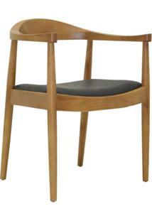 Cadeira De Cozinha Carolina Estofada Marrom