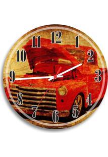 Relógio De Parede Decorativo Carro Antigo Único