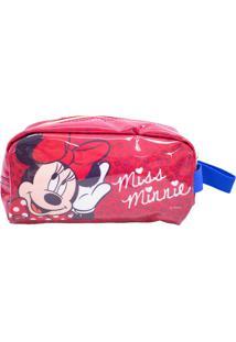 Necessaire Minas De Presentes Minnie Vermelho
